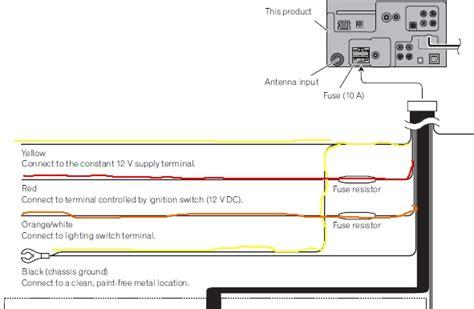 pioneer avh p3100dvd wiring diagram wiring diagram and