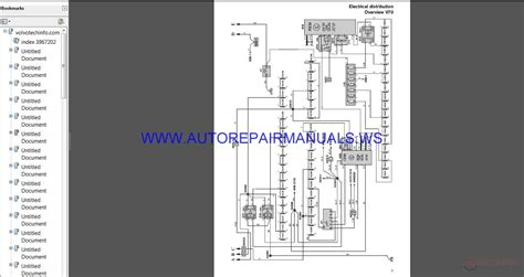 volvo  wiring diagram   manual auto repair