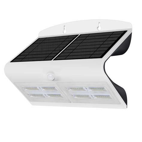 Applique Da Esterno A Led by Applique Led Da Esterno Ad Energia Solare 6 8 W Ecoworld
