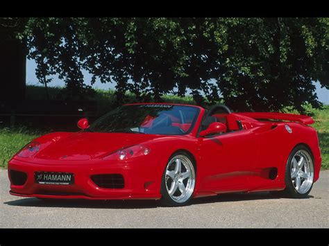 360 Modena Spyder by Hamann 360 Modena Coupe Spider Wallpapers By