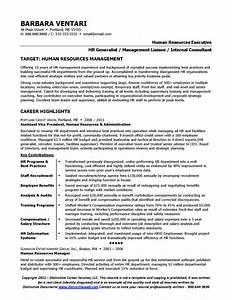 Resume Sample for HR Manager