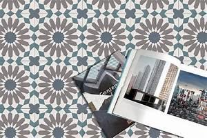 Dalle Vinyle Carreau De Ciment : sol vinyle imitation carreau de ciment r tro et moderne ~ Premium-room.com Idées de Décoration