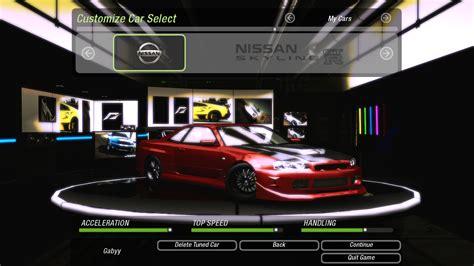 Nfs Payback Nissan Skyline R34 Gt R V Spec In Nfsu2 By