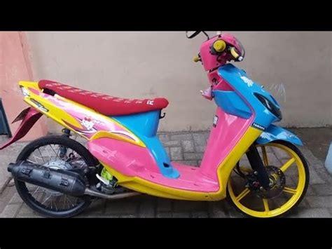 Modif Mio Sporty Ala Thailand by Racing Motorcycle Yamaha Mio Modifikasi Thai Look