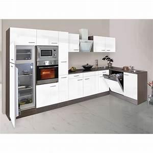Fliesenaufkleber Küche Obi : respekta winkelk che 370 cm wei seidenglanz eiche york nachbildung kaufen bei obi ~ Buech-reservation.com Haus und Dekorationen