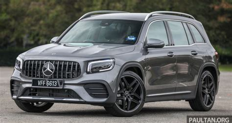 The two in the front come with plenty of adjustment as standard and those in the middle are roomy enough for. GALLERY: X247 Mercedes-AMG GLB35 4Matic - five-seat SUV with 302 hp; 0-100 km/h in 5.2s; RM363 ...