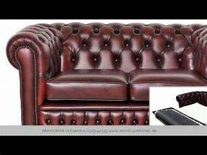 Original Chesterfield Sofa Aus Great Britain YouTube