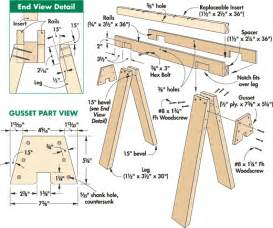 shed home plans 24 free sawhorse plans make