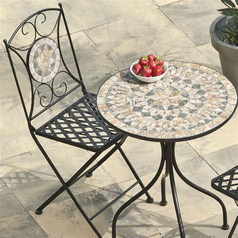 algiers mosaic bistro bistro sets garden furniture