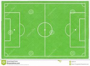Football Field Layout Stock Illustration  Illustration Of
