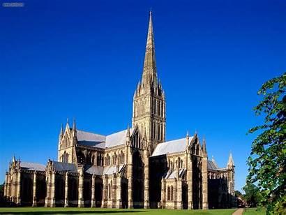 Salisbury England Wiltshire Cathedral Iar Ready