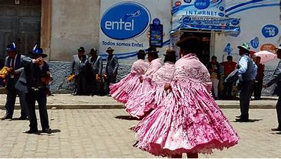 Bolivia Festival Copacabana Virgen Candelaria Party Dance