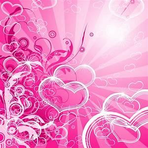 [49+] Cute Pink Heart Wallpaper on WallpaperSafari