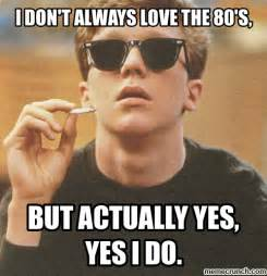 80s Memes - quotes i love the 80s quotesgram