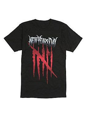 New Years Day Malevolence Logo T-Shirt | New years day ...