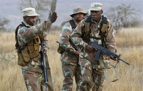South African Soldiers (sandf) In Drc Acused For Rape
