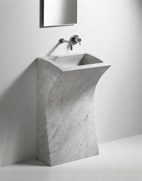 Modern Bathroom Freestanding Sinks by 33 Modern Pedestal Bathroom Sinks To Make A Statement
