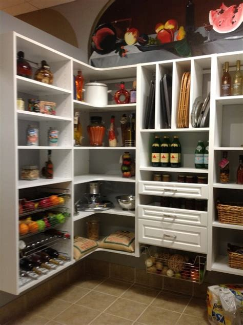 kitchen white pantry closet and mudrooms traditional