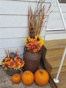 100, Cozy, U0026, Rustic, Fall, Front, Porch, Decor, Ideas, To, Feel, The