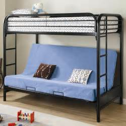 fordham twin over full futon metal bunk bed lowest price