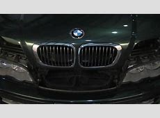 BMW Inhood Grill Replacement YouTube