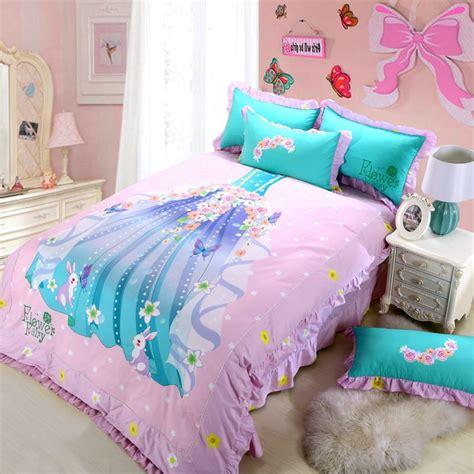 princess bedroom set   girl pink bedding