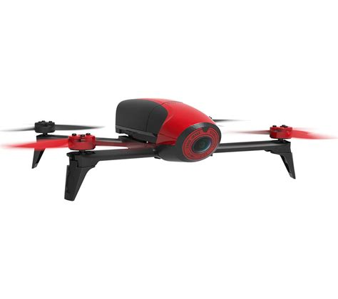 buy parrot bebop  drone red  delivery currys