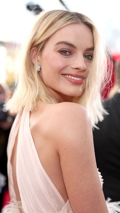 wallpaper margot robbie photo screen actors guild awards