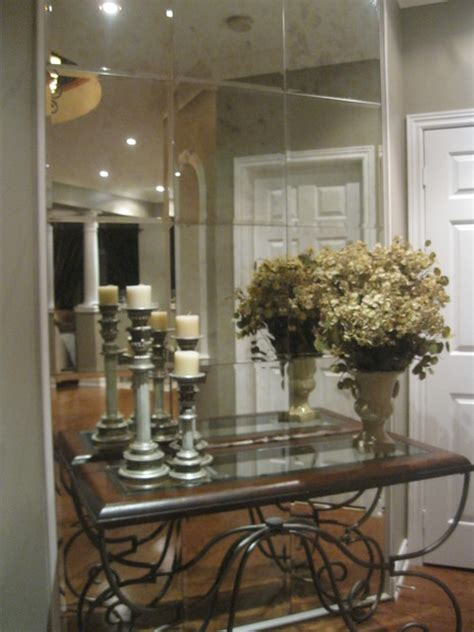 hallway mirrors contemporary entry toronto by
