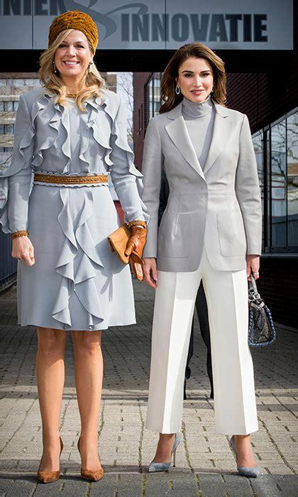 King Abdullah Queen Rania Netherlands State Visit