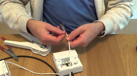 How Install Telephone Extension Socket Youtube