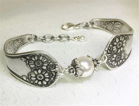 Antique Spoon Bracelet Silverware Jewelry White Crystal Antique Living Room Side Tables Wood Clothes Hangers Jamboree West Des Moines Downtown Frederick Md Antiques Brown Granite Origin Opera House Hico Magnolia Manor White King Upholstered Panel Bed Lc Medford Oregon