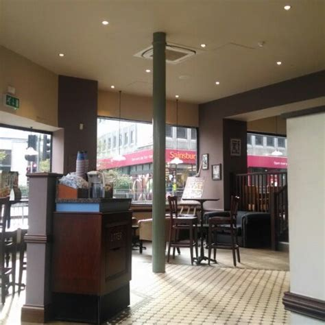 Sunny days guarantee that our patio will be full of guests enjoying a drink or treat. Caffè Nero - Coffee Shop in Nottingham