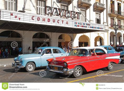 Traffic And Movies Editorial Photo. Image Of Movie, Havana
