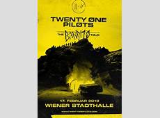Twenty One Pilots The Bandito Tour, 17022019 Wiener