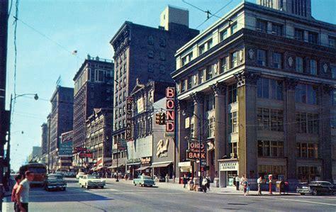 all sizes high downtown columbus ohio 1950 s