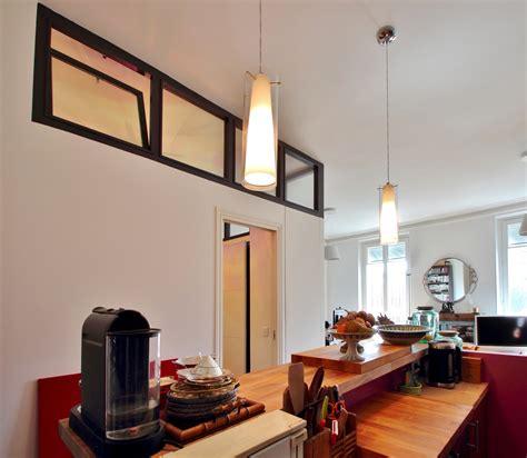 verriere entre cuisine et salon top chambre au milieu du salon verriere cuisine bar agence