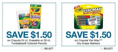 crayola factory coupons printable