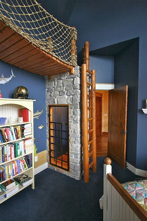 Pirate Ship Interior Design For 6 Year Boy by Cool Or Fool Pirate Ship Bedroom Home Bunch Interior