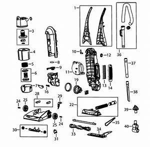 30 Bissell Vacuum Parts Diagram