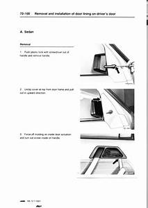 W124 Removal Drivers Door Linning Pdf  2 56 Mb