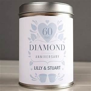60th diamond wedding anniversary gifts gettingpersonalcouk With 60th wedding anniversary gift ideas