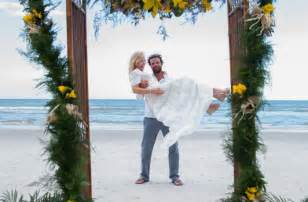 rustic arch for wedding kelli giddish faulborn wedding 6 20 15 weddings in new smyrna fl