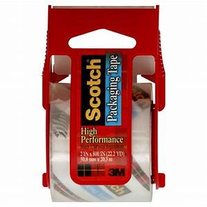 3m Scotch Packaging Tape High Performance Clear W