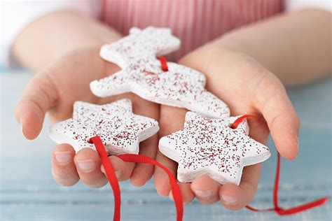 lilydove and chou chou salt dough christmas decorations