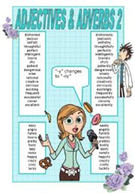English Exercises Adjective And Adverb