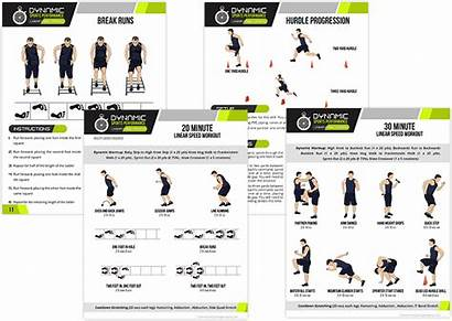 Linear Speed Training Printable Workout Workouts Coaching