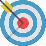 Target Icon Transparent Bullseye Icons Targeting Optimization