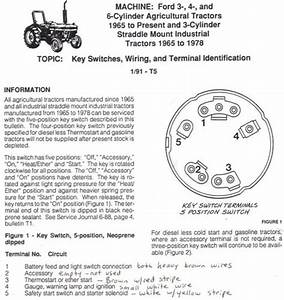 35 Ford 2000 Tractor Ignition Switch Wiring Diagram