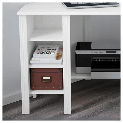 ikea corner desk white brusali corner desk white 120x73 cm ikea